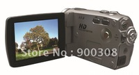 Free Shipping 12MP CAMCORDER 720P HD VIDEO 16X DIGITAL ZOOM DIGITAL CAMCORDER 3.0inch TFT LCD HDV-109