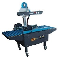 Pneumatic random Carton Sealer/Case Sealer,all size box taping sealing machinery, bottom/top one-stop taping,side edge driver