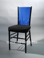Roy blue color Vertical Chair Band\100%polyester chair band\chair sash  Free shipping
