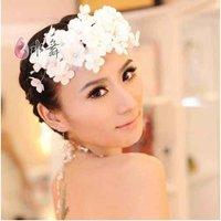 Free Shipping Bridal Veil Party Headdress Hairpins Wedding Hairband Flowers