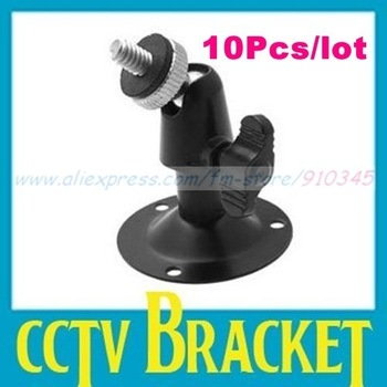 10Pcs/lot Wall Mount support or CCTV Bracket For Security Camera