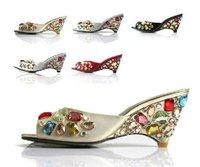Free shipping-fashion slipsole sandal,lady sexy Flats shoes-hot sale