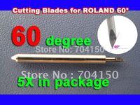 5/pc 60 degree BLADE Roland Foison Liyu China Vinyl Sign Plotter cutter ,Lettering knife