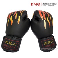 BoxingBoxing Wu saints flame professional adult Muay Thai practice training decompression and Kickboxing Boxing gloves Gloves