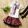 School uniform girls school uniform sailor suit school wear