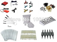 Sale Tattoo Kit 2 Flydragon Rotary Beginner Machine Gun Power Supply Foot Pedal Needles Grip Tip Needles Supply