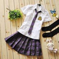 Girls class service school wear school uniform student uniform student clothing costume