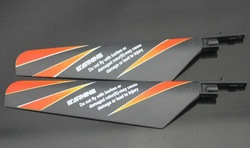 4XMain Rotor Blade Set For V911 R/C Helicopter Spare Parts V911_02 Free Shipping(China (Mainland))
