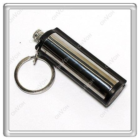 K5Q Metal 15000 Times Flint Match Box Lighter Hikng Camping Hunting Tools Gifts(China (Mainland))