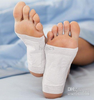 Wholesale - GOLDEN New Detox Foot Pad Patch & Adhesive 100Pcs/lot Sheets HB080 Free Shipping