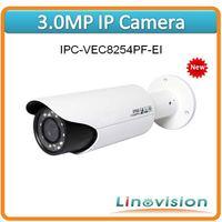 Wholesale professional 3.0M CMOS Full-HD Megapixel IP Camera with PoE and IR LED, IPC-VEC8254PF-EI
