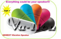 Free shipping China Post (not TNT)! Original Vibration Speaker MP3 MP4 Computer Cellphone Speaker  wholesale &retail