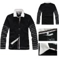 2012 male fashion slim shirt Men casual square collar long-sleeve shirt