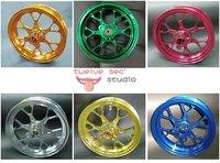 taiwan RRGS  CNC 10 inch rim front wheel 12 spokes
