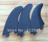 all carbon surfboard fin with FCS base