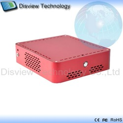 Factory outlets: Ultra-small Mini  ITX Desktop POS PC Computer 52R-4:CPU D525 Dual core 1.8GHz/RAM 4GB/ SSD 64GB