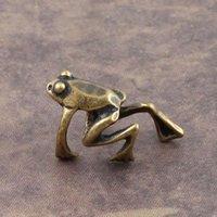 Retro Ear Cuff Earring - Tree Frog - Clip on - Ear Wrap - No piercing