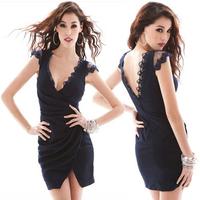 Коктейльное платье New sexy Mini Dress, Fashion Women's Prom Dress, Elegant Ladies' Dress Cocktail Dress B5823