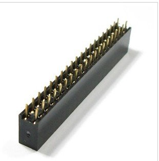 10pcs 2x20 Pin 2.54mm Double Row Female 40Pin connector