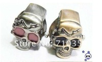Free Shipping 50pcs/lot Cool Skull ring watch Elasticity Ring watch super gift