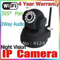 NEW Fos camera SNOI8918W Dual WPAWEBCAM IP CAMERA AUDIO VIDEO WIFI CAMERA OSD IR Motion Detction