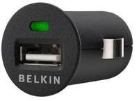 Belkin Car Charger Mini Universal USB Car Charger For Iphone 4G 3GS iPod 10pcs/lot Free shipping!!