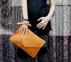 Free shipping!!New fashion simple design women envelop clutch bags, women wallet, dual function, easy to be a shoulder bag,H994(China (Mainland))