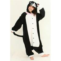 Stitch lovers at home service cow cartoon animal one piece sleepwear cartoon pajama sets