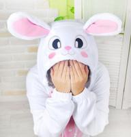 100% cotton sleepwear cartoon totoro rabbit animal one piece sleepwear lounge lovers sleepwear