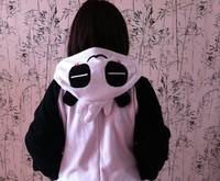 100% cotton lounge female lovers sleepwear cartoon animal one piece sleepwear nonopanda