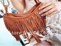 tassel Handbag shoulder bag Tote Satchel Designer Lady fashion brand girls popular French style