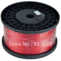 In stock 10 Gauge 25&#39; ft Red Car Audio Power Ground Wire Cable AWG(China (Mainland))