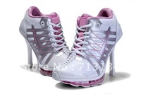 free shipping womens  sports  heel shoes m2012 new max  stripe orders  women's shoes  eur size 36-41 pink/white