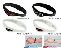 New Fashion CROSS type Titanium Health Silicone Bracelet  Energy Bracelet Wristband 50pcs/lot