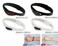 New Fashion CROSS type Titanium Health Silicone Bracelet  Energy Bracelet Wristband 50pcs/lot