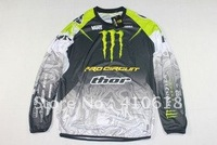 kawasaki THOR cross-country T-shirt - Long T-shirt racing suit motorcycle clothing motorcycle clothing