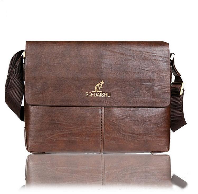 Mens Leather Shoulder Bag For Sale 99