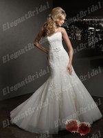 2013 New Listing Sweetheart Mermaid Wedding Dresses Bridal Gown