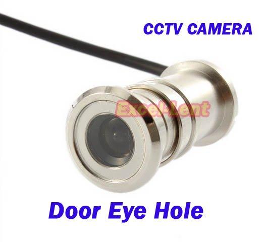 Free shipping New Mini Pinhole Security Color Eye Hole Door CCTV Camera(China (Mainland))