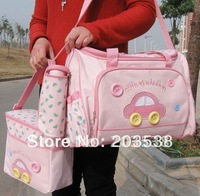 Free shipping Multi Function Large Capacity Mommy Bag Baby Diaper Bags Nappy Changing Set Accessories Tote Bag 1pcs/lot