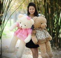 Free Shipping 80cm Plush toy lovers baby bear doll plush toy birthday day gift