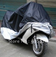 "Free Shipping Brand new XXL 73.5"" L x 31.5"" W x 37.5"" H Motorcycle cover Motorbike Waterproof UV Resistant Universal Cover!"