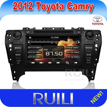 Camry 2012 Car Stereo GPS! Toyota Camry 2012 Car DVD Player with Bluetooth Radio Audio TV USB steering wheel control