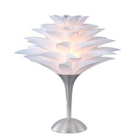 Free Shipping 60W Table Light in Tree Shape White Shade