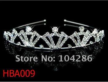 Royal Kings crown headband rhinestone prince tiara headband crystal hairband 60pcs/lot assorted styles free shipping