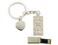 Metal Keychain Fashion USB Flash Drive Memory Stick Thumb Pen 4GB/8GB/16GB/32GB