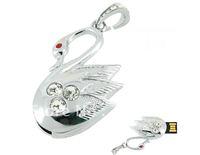 Crystal Swan Diamond Crystal USB Flash Drive Memory Stick Thumb Pen 4GB/8GB/16GB/32GB