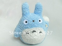 "TOTORO ANIME MOVIE 8"" PLUSH Lovable Blue SOFT TOY Ghibli"