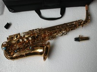 Advanced alto sax 62 Alto Saxophone Golden High Quality free case