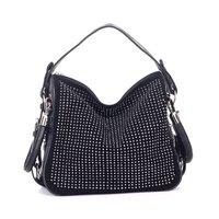 wholesale 2012 hot sell Lady PU  Leather Tassel Handbag Shoulder Aslant Bag/Handbags/purse  High Quality